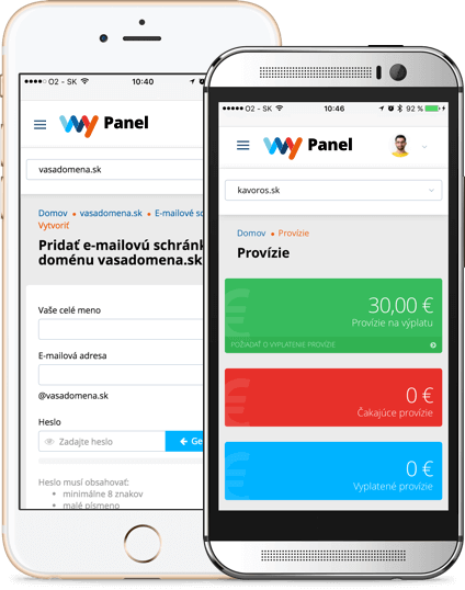 WY Panel, mobile